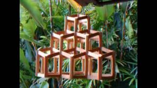 Rhombic dodecahedral architecture.