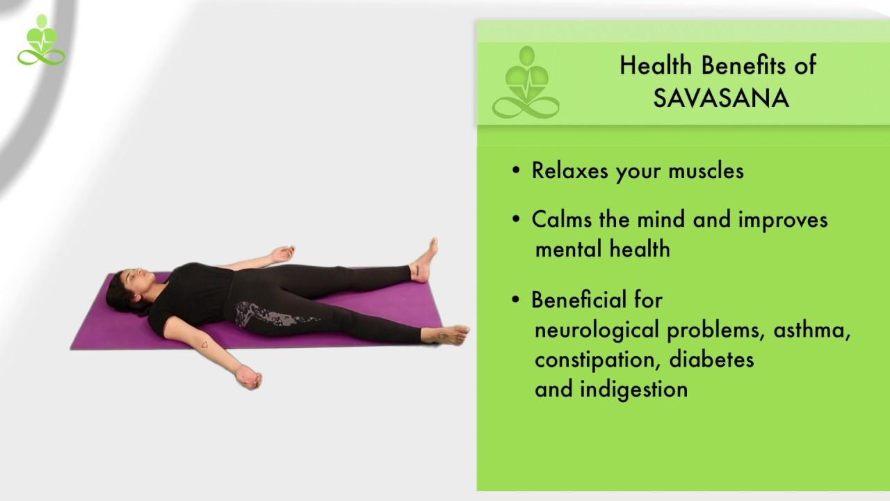 How to perform Savasana Corpse Pose in Yoga   YouTube