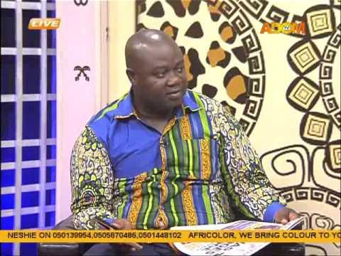 Asem Kesee - Badwam on Adom TV (5-10-15)