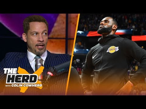 Chris Broussard on LeBron's power in the NBA & the Lakers' chances at Anthony Davis | NBA | THE HERD