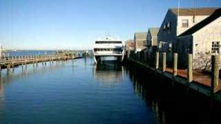 Hy Line ferry time lapse Nantucket