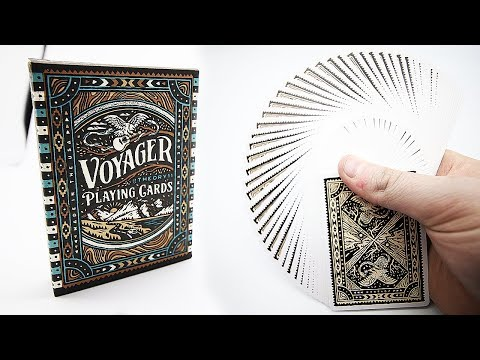 Deck Review - Voyager Playing Cards By Theory11 [HD]