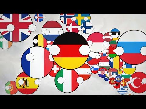 Polandball 19: History of Europe: 1000 AD-2020