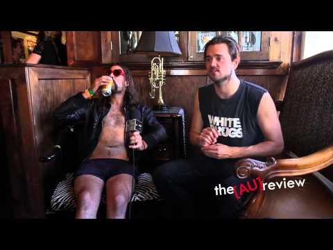 Strangers - SXSW Interview (Part Two) at The Aussie BBQ!