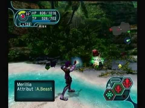 Phantasy Star Online Ep. I&II (Game Cube) - Episode 2 : Central Control Area