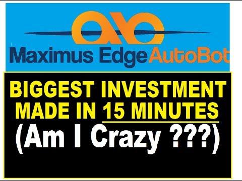 ™Maximus-Edge Autobot BIGGEST INVESTMENT MADE!!!!