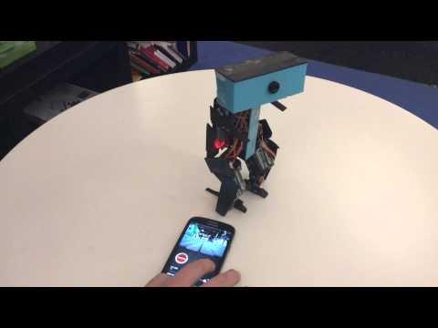 Transformers Robots / Spy Robot - Internship