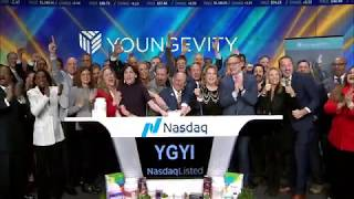 Youngevity Rings the NASDAQ Bell for Fit Week 2018