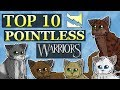Top 10 MOST POINTLESS Cats in Modern ThunderClan | Warrior Cats