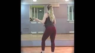 Кизомба женский стиль Урок Движения в счёт