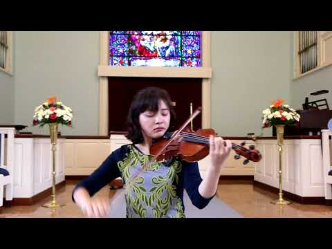 Bruch, Violin Concerto No. 1 in G Minor 3rd mvt- Jennifer Jeon