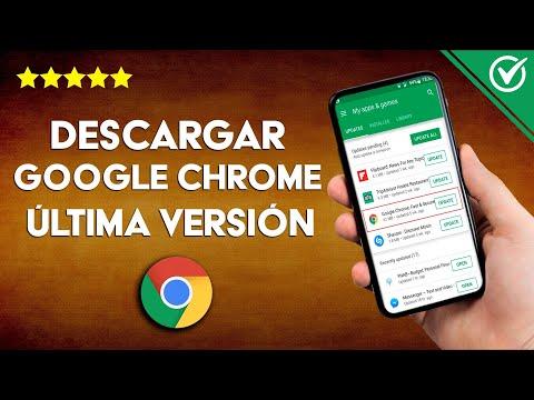 Cómo Descargar e Instalar Google Chrome Última Versión en mi PC o Móvil ¡Gratis!