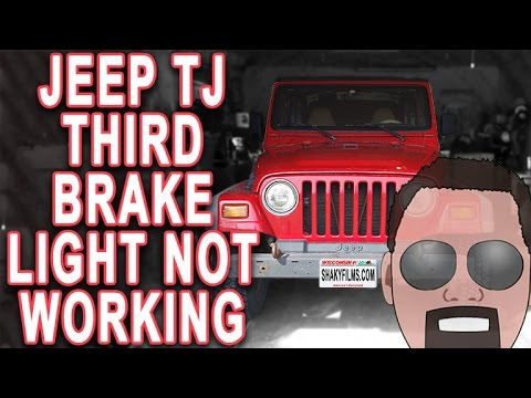 Jeep Wrangler NON Working Third Brake Light YouTube