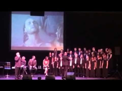 "Mark Lowry & East Dayton Christian School Choir/""Mary Did You Know""/Victoria Theatre, Dayton OH"