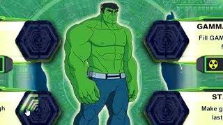Colorful game - Hulk Smashing Gama Storm Center to Rescue Red Hulk &Skaar Cartoons For Kids