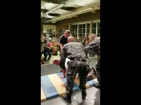 Lapeer County Sheriff takes a taser at a fundraiser