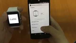 How to use ColMi gt08! ( suitable for android 4.3 or above)