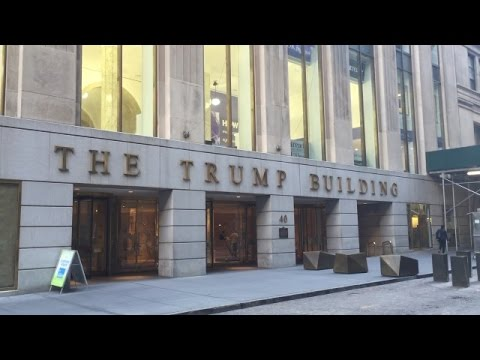 The Trump Building at 40 Wall Street in Lower Manhattan