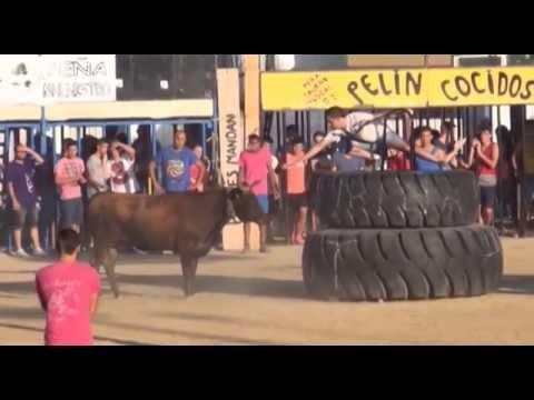 Toros 2 agosto Alarcon Fiestas Puerto Sagunto 2015