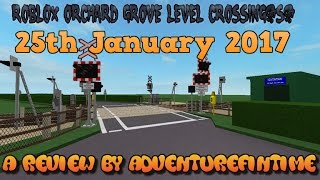ROBLOX | Orchard Grove Level Crossing(s)