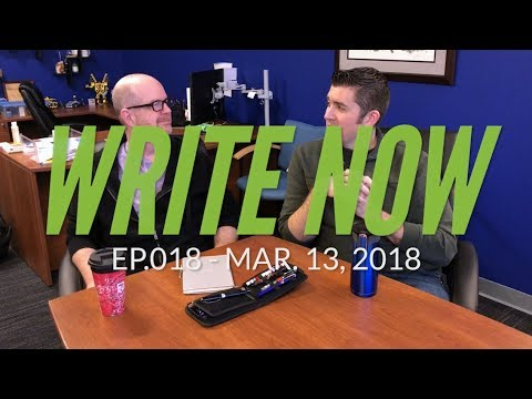 Write Now - Ep018: Ink Mixing with Brian & Eric!