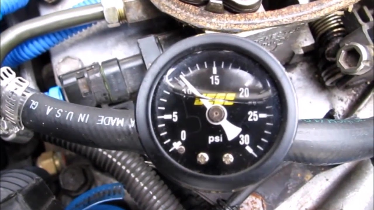 1984 Corvette Fuel Pressure And Injectors Working Youtube Regulator Troubleshooting