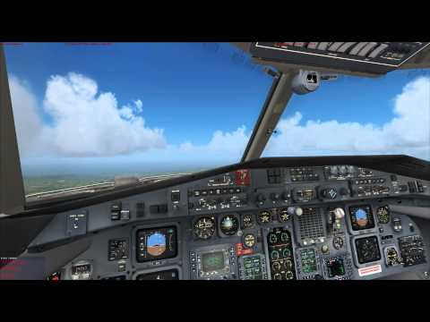 MCE and PMDG J41 FSX Dundee to Inverness