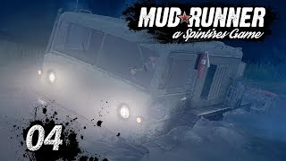 Spintires MudRunner | Orientierungslos bei NACHT ► #04 Off-Road Simulator First Look deutsch german