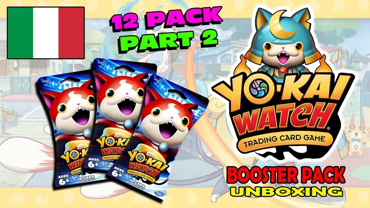 carte yo kai watch YO KAI WATCH TCG gioco di carte collezionabili   Booster Pack ITA