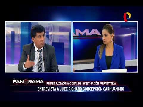 """Concepción Carhuancho: """"discrepo con lo que ha resuelto el Tribunal Constitucional"""""""