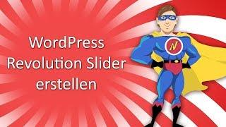 WordPress Slideshow mit Revolution Slider erstellen Tutorial