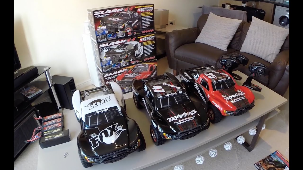 Traxxas Slash 4x4 OBA & TSM Mike Jenkins Edition UNBOXING
