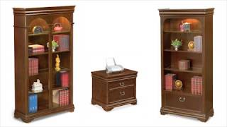 Traditional Executive Desk | Nbf Pont Lafayette Collection | National Business Furniture