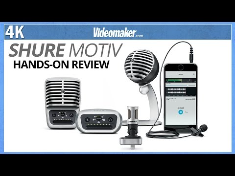Shure MOTIV Microphone Line for iOS - Hands-on Review