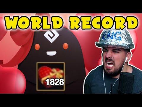 [WORLD RECORD] BIGGEST BOX OPENING IN BLACK DESERT ONLINE (BDO) 1828 VALENTINE BOXES - Wakayashi