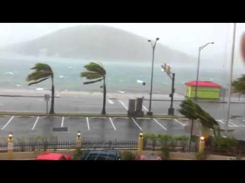 Hurricane Earl in St Thomas 1800