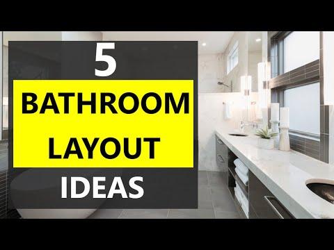 EASY BATHROOM LAYOUT IDEAS | HOW TO DESIGN BATHROOM
