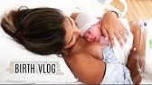 NATURAL EMOTIONAL BIRTH VLOG