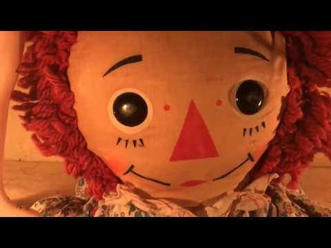 ANNABELLE THE DOLL - REAL HAUNTED DOLL CAUGHT ON TAPE
