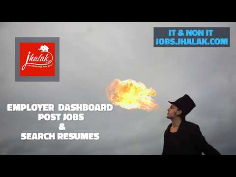 Jobs.Jhalak.com is a complete job Portal for job Seekers and Employers