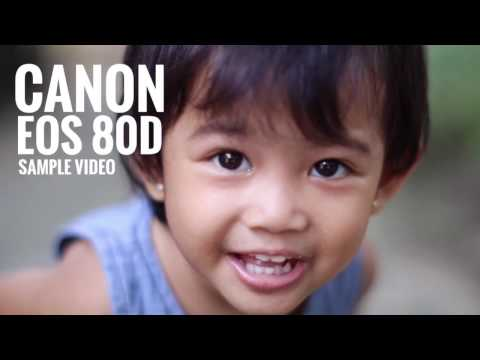 sample video CANON EOS 80d - video test versi indonesia