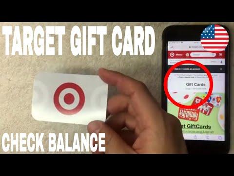 ✅  How To Check Target Gift Card Balance 🔴