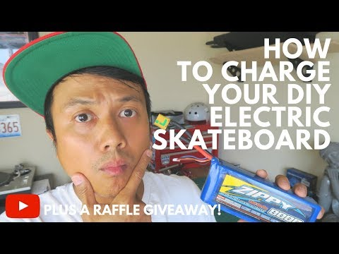 HOW TO BALANCE 🔌 CHARGE A LIPO 🔋 BATTERY - DIY ELECTRIC SKATEBOARD