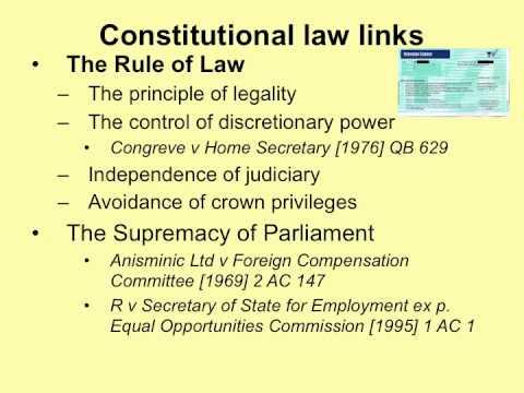 Administrative Law1