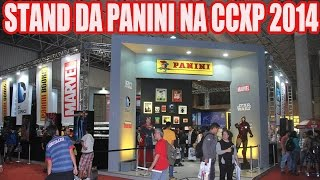 Stand da PANINI na convenção de quadrinhos Comic Con Experience CCXP 2014 - comics HQs
