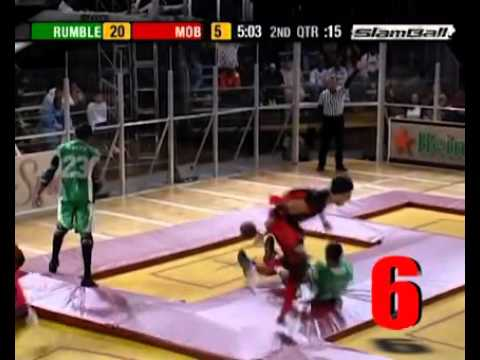 SlamBall Top 10 Plays From One Game