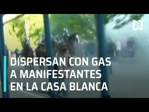 Lanzan gas lacrimógeno