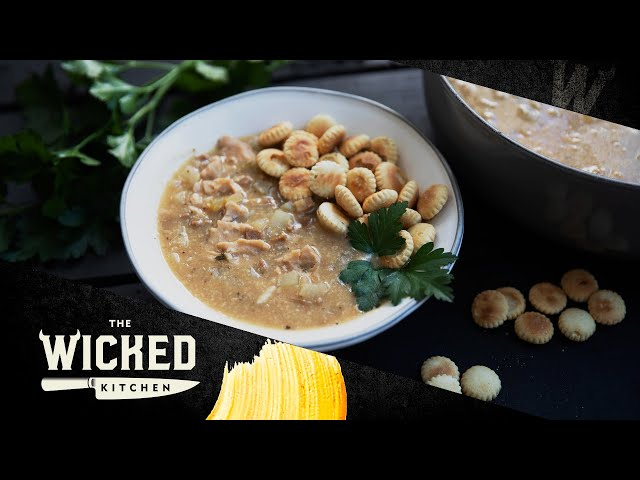 New England No-Clam Chowder | The Wicked Kitchen