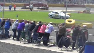 Brisca F1 Stock Car Racing- Lochgelly- 26.6.2016 Heat 1