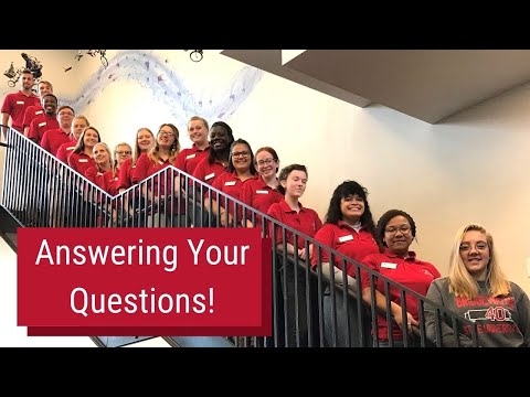 BSU Tour Guides Answer Frequently Asked Questions | Bridgewater State University